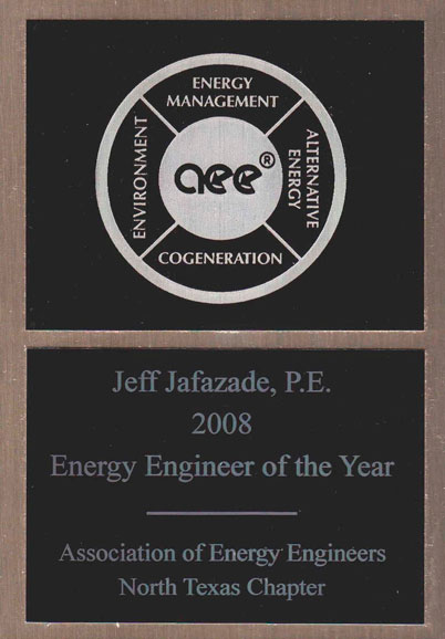 Energy Engineer of the Year:2008